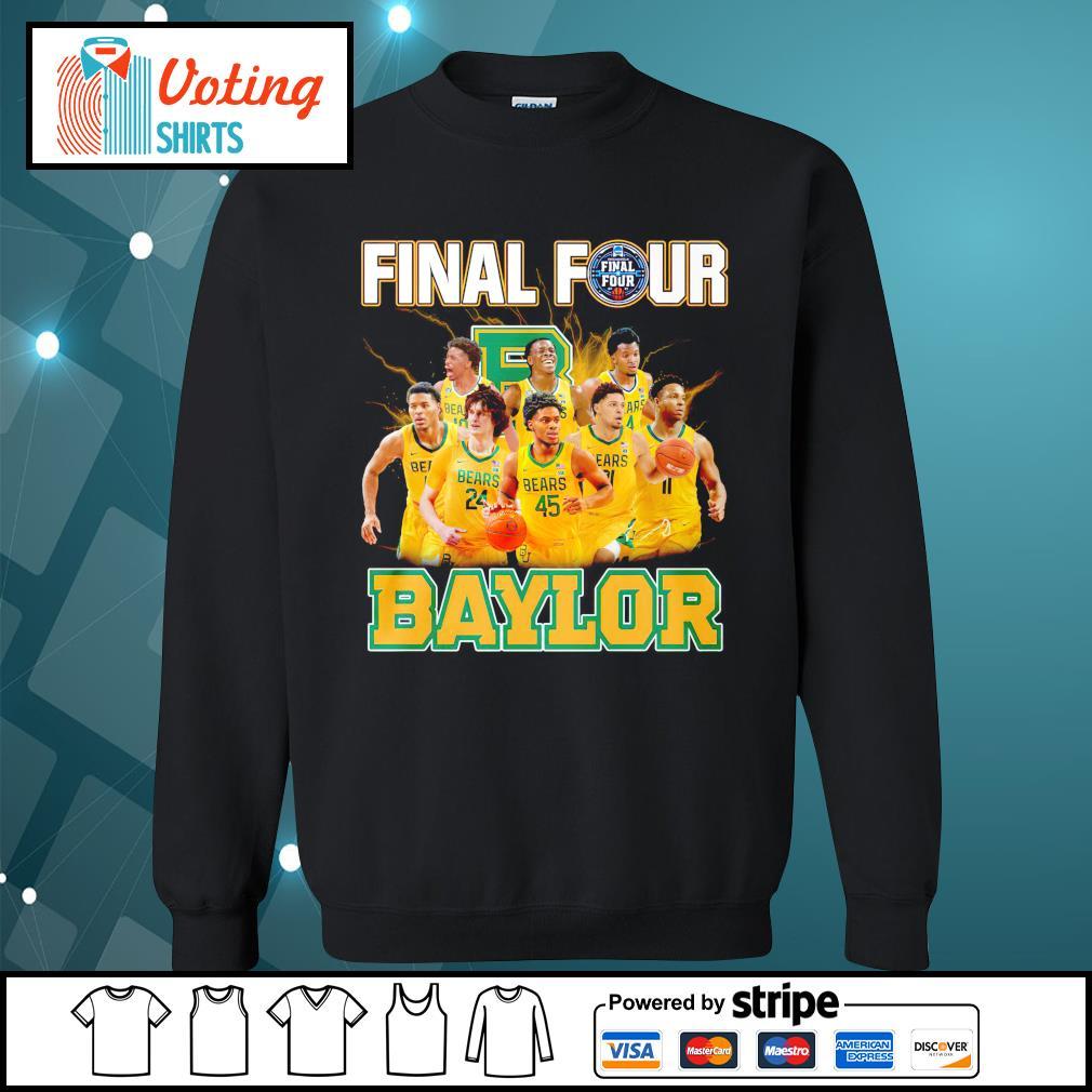 2021 Men's Basketball Final Four Baylor sweater