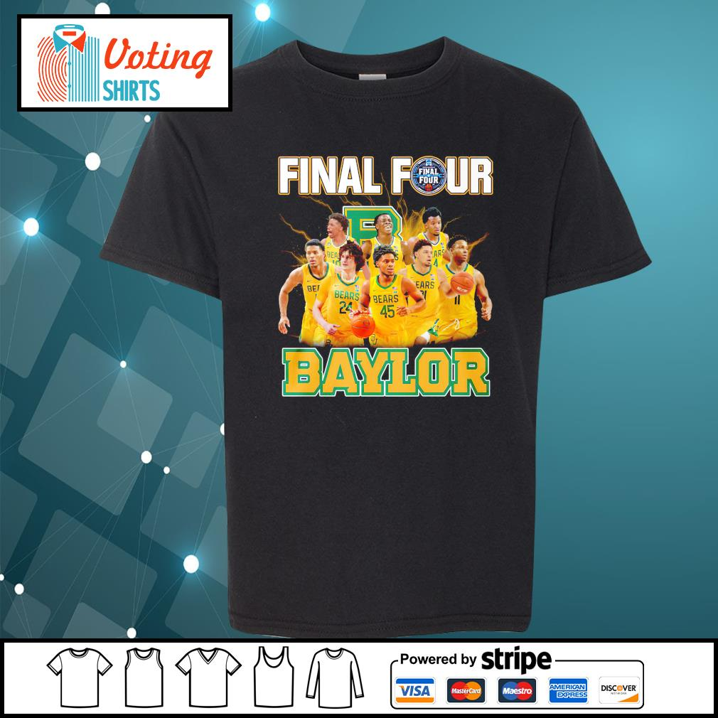 2021 Men's Basketball Final Four Baylor youth-tee