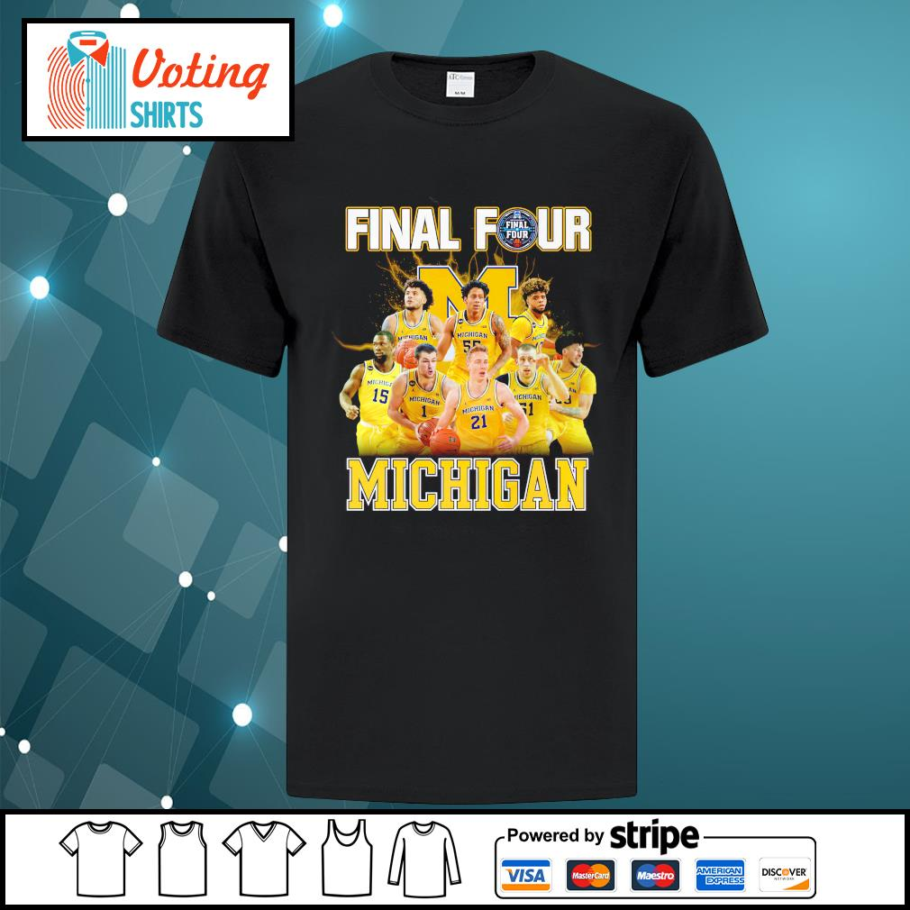 2021 Men's Basketball Final Four Michigan shirt
