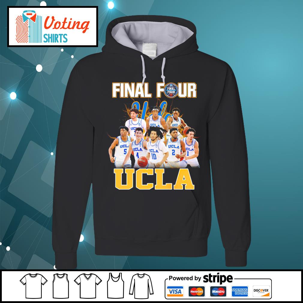2021 Men's Basketball Final Four UCLA hoodie
