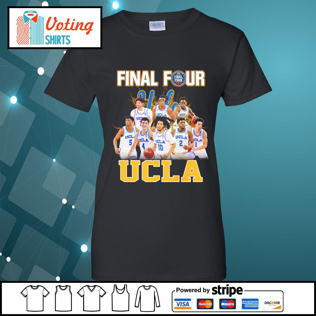 2021 Men's Basketball Final Four UCLA ladies-tee