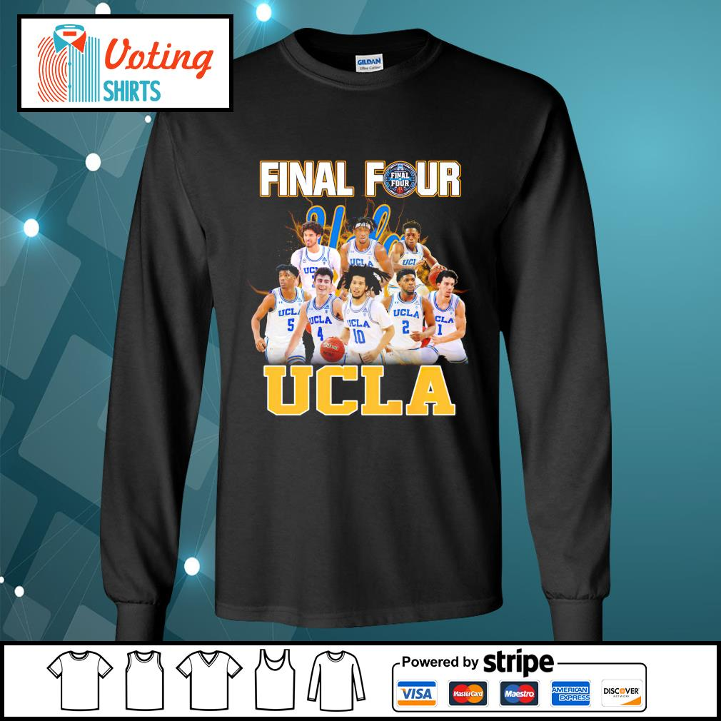 2021 Men's Basketball Final Four UCLA longsleeve-tee