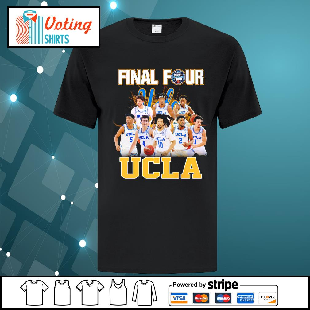 2021 Men's Basketball Final Four UCLA shirt