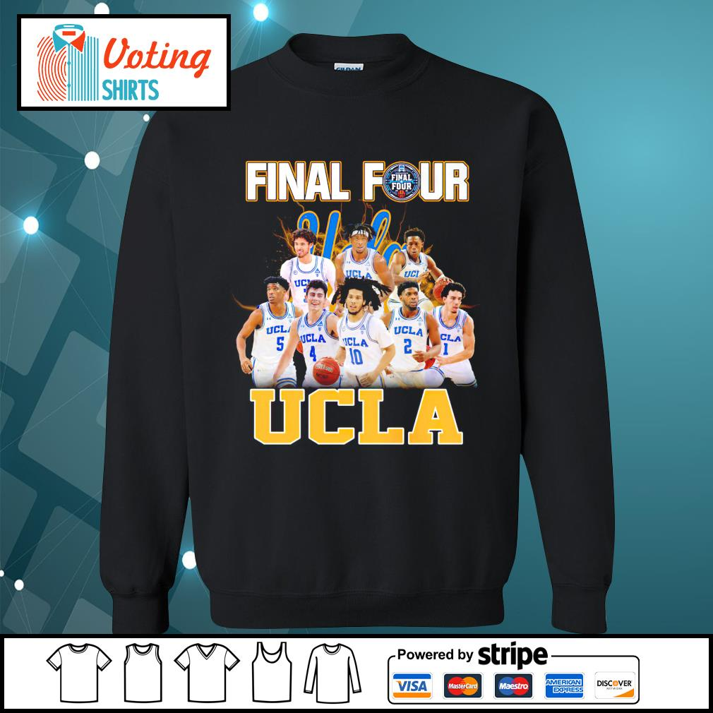 2021 Men's Basketball Final Four UCLA sweater