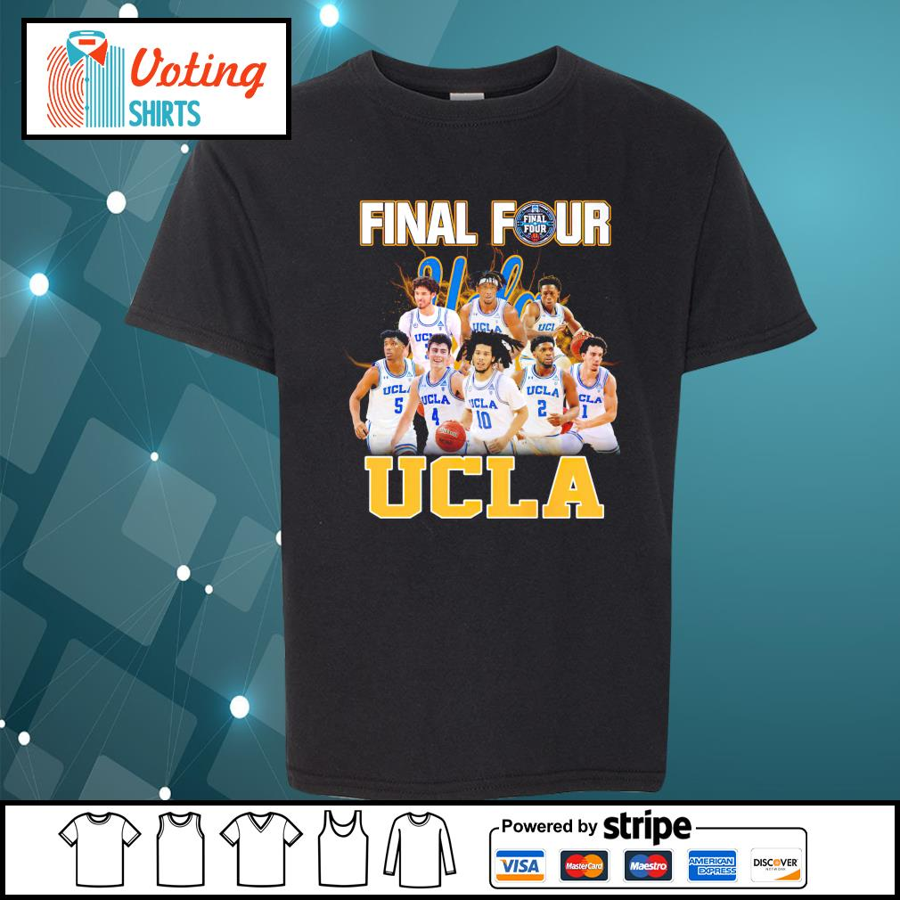 2021 Men's Basketball Final Four UCLA youth-tee