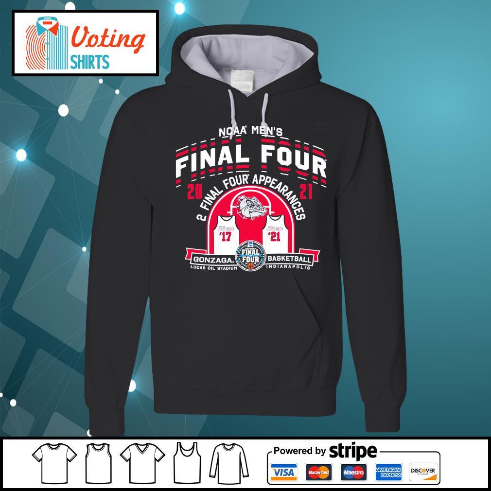 2021 NCAA Men's Basketball Tournament March Madness Final Four Gonzaga Basketball hoodie