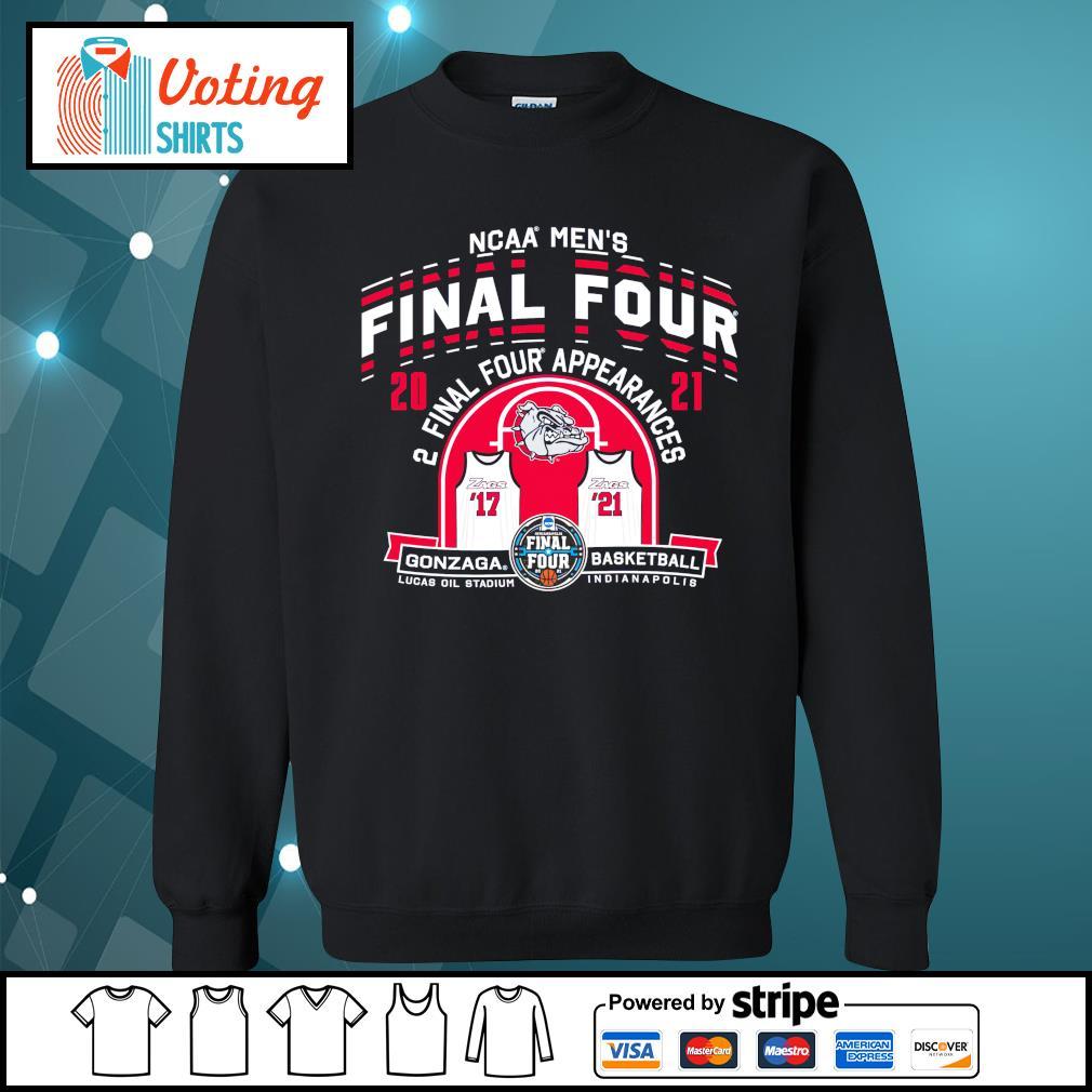 2021 NCAA Men's Basketball Tournament March Madness Final Four Gonzaga Basketball sweater