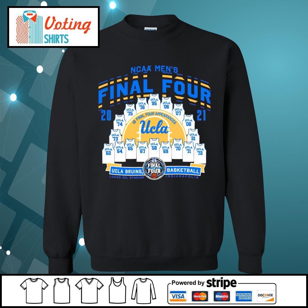 2021 NCAA Men's Basketball Tournament March Madness Final Four UCLA Bruins Basketball sweater