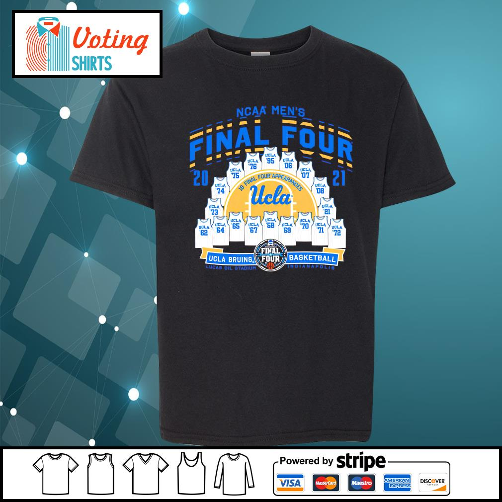2021 NCAA Men's Basketball Tournament March Madness Final Four UCLA Bruins Basketball youth-tee