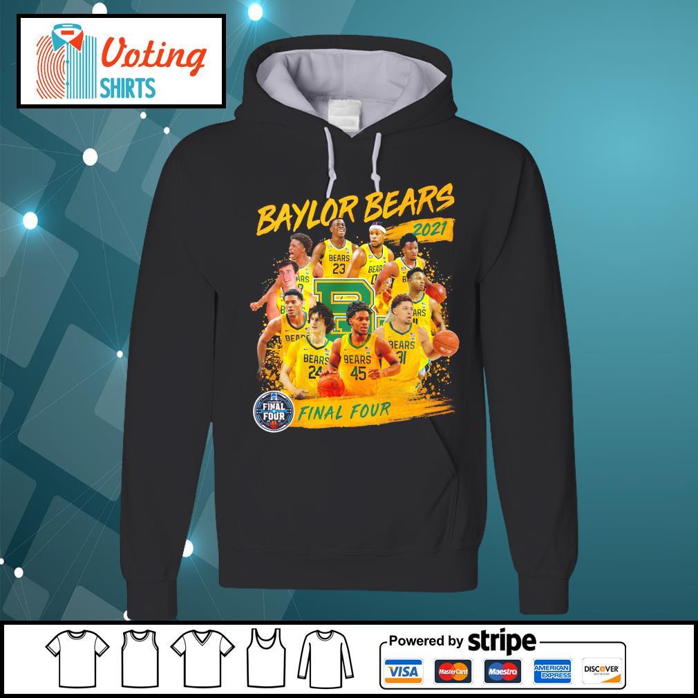 Baylor Bears 2021 Final Four hoodie