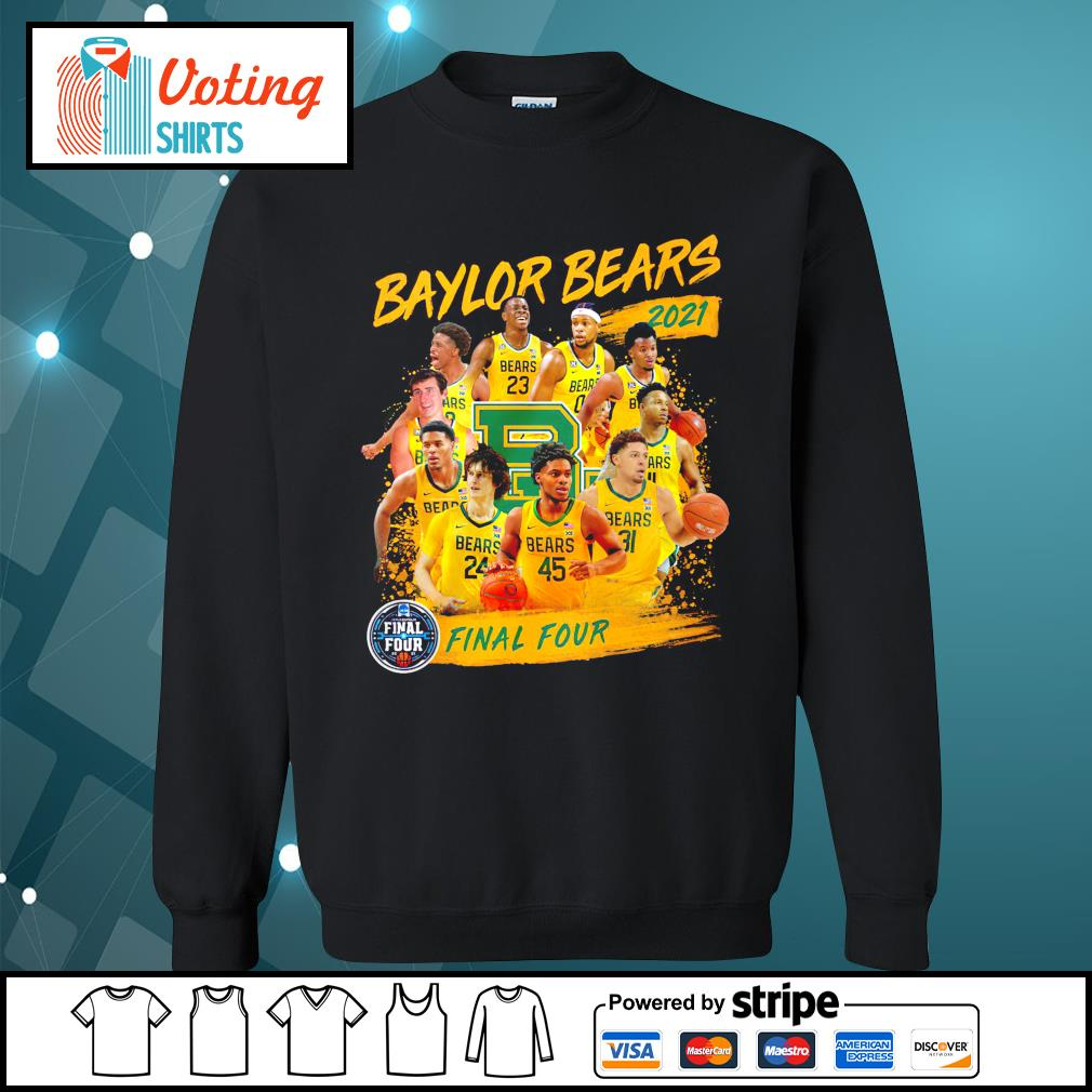 Baylor Bears 2021 Final Four sweater