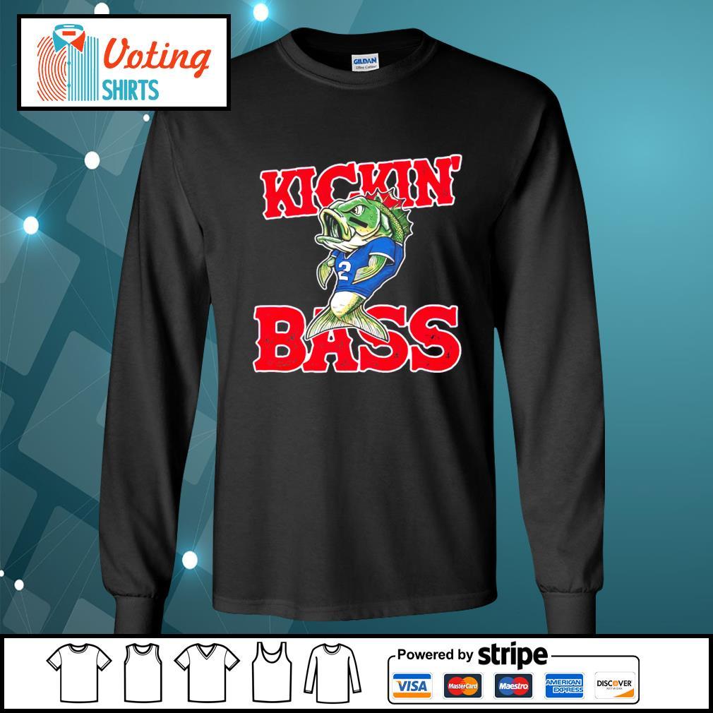 Buffalo Kickin' Bass longsleeve-tee