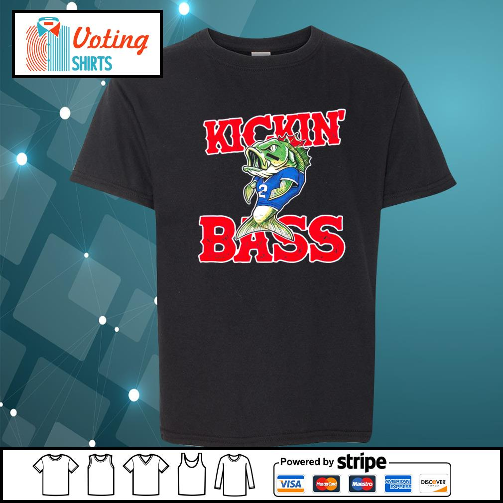 Buffalo Kickin' Bass youth-tee