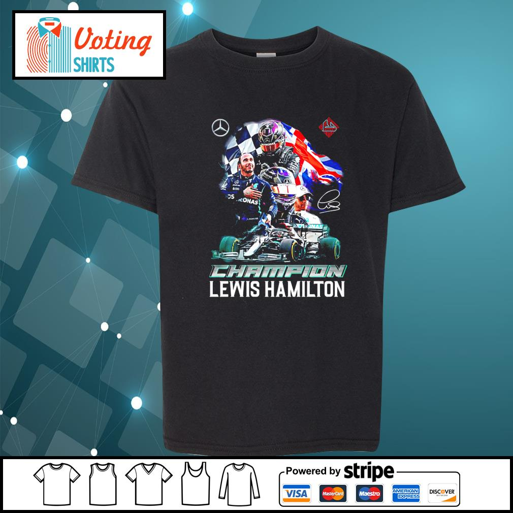 Champion Lewis Hamilton signature youth-tee