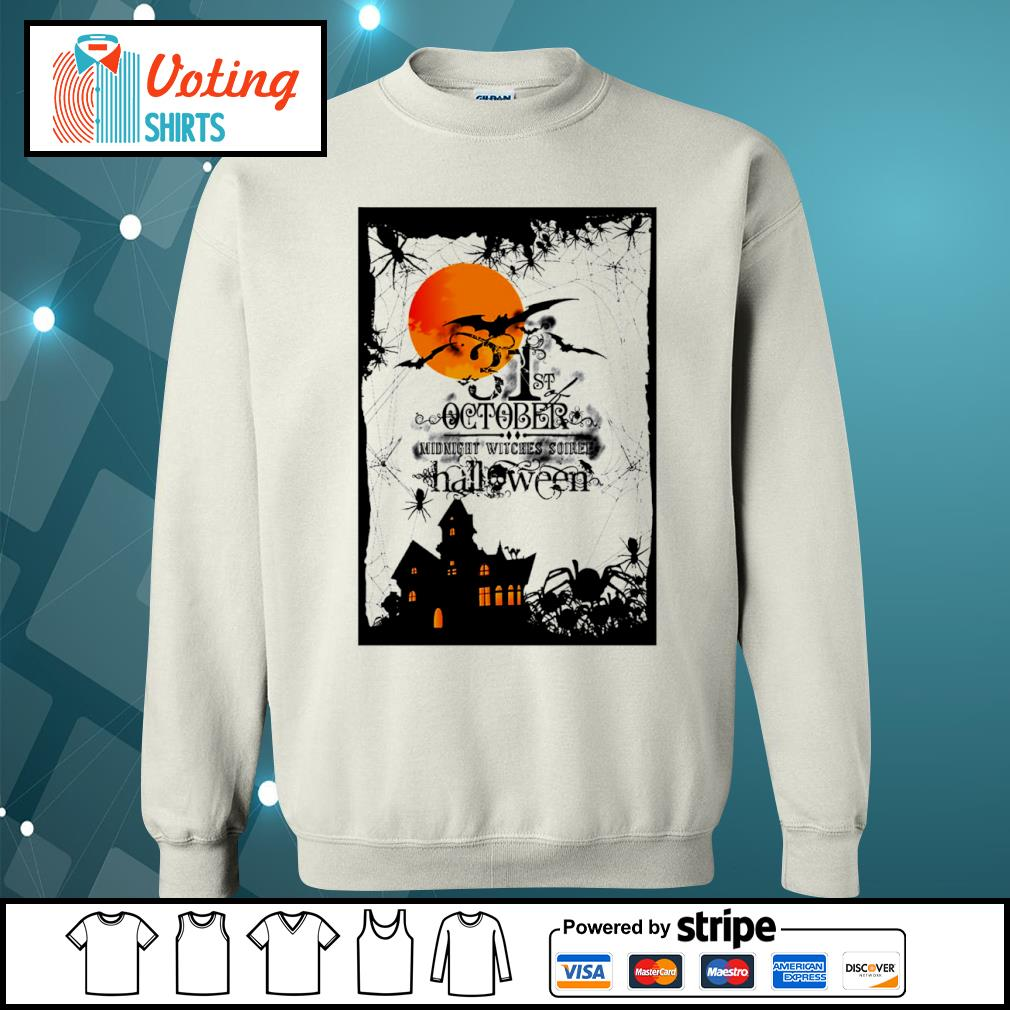 31st October midnight witches soiree Halloween s sweater