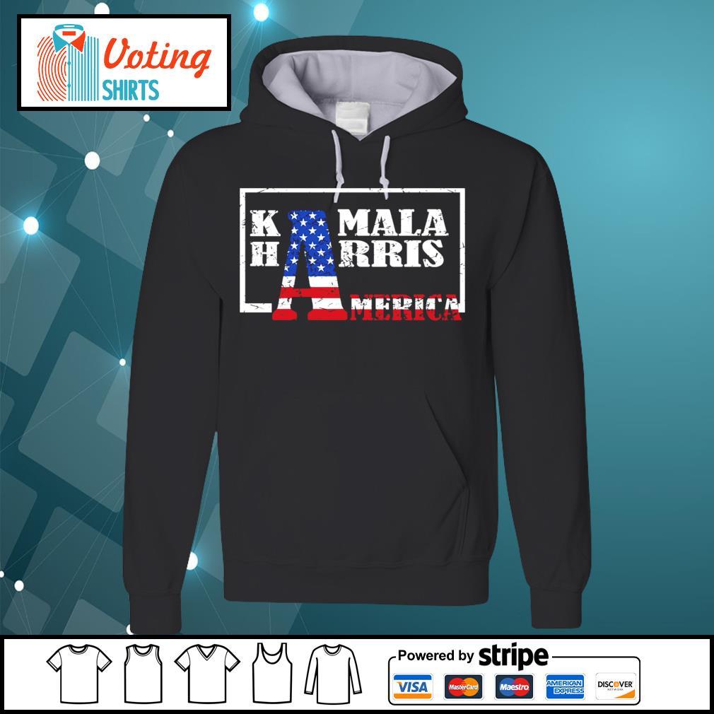 American Flag Kamala Harris America s hoodie