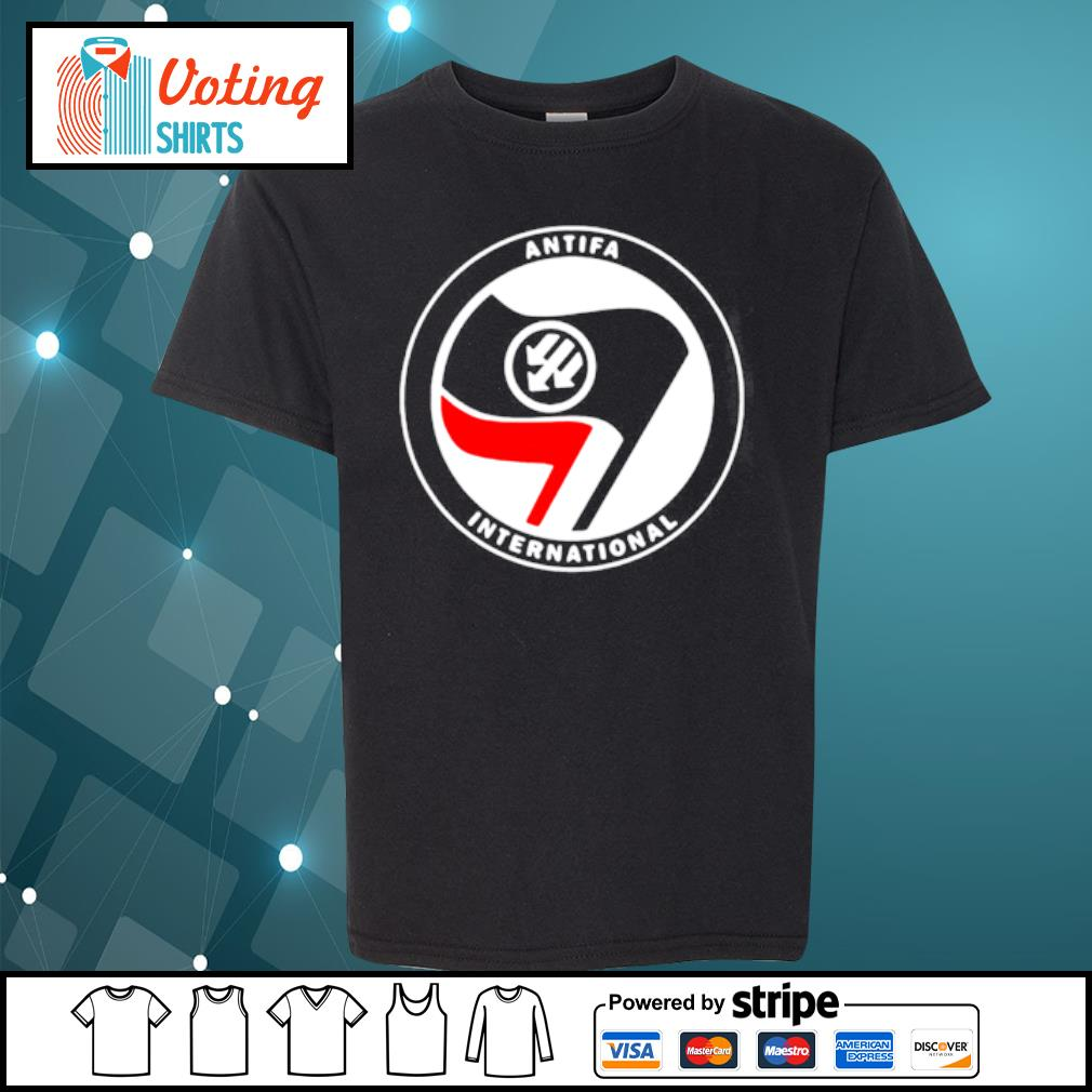 Antifa International s youth-tee