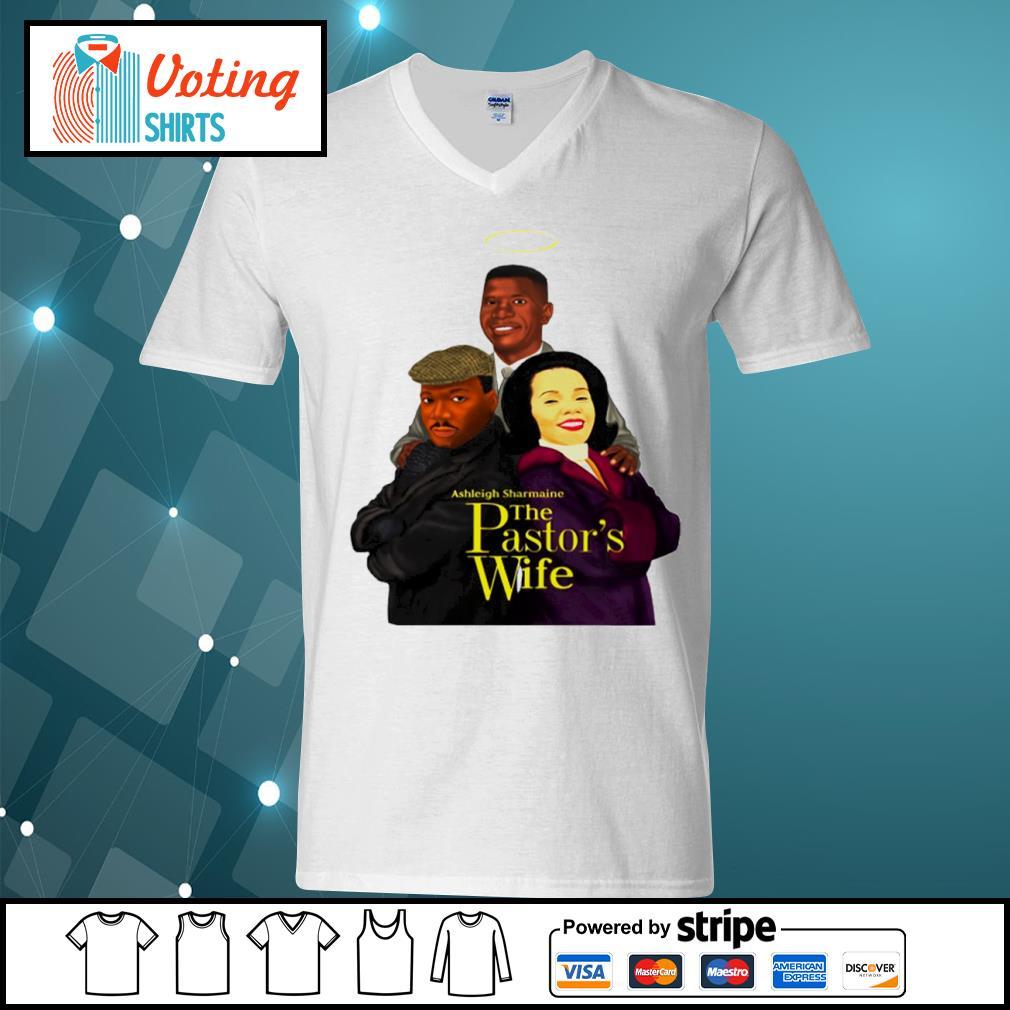 Ashleigh Sharmaine The Pastor_s Wife s v-neck-t-shirt