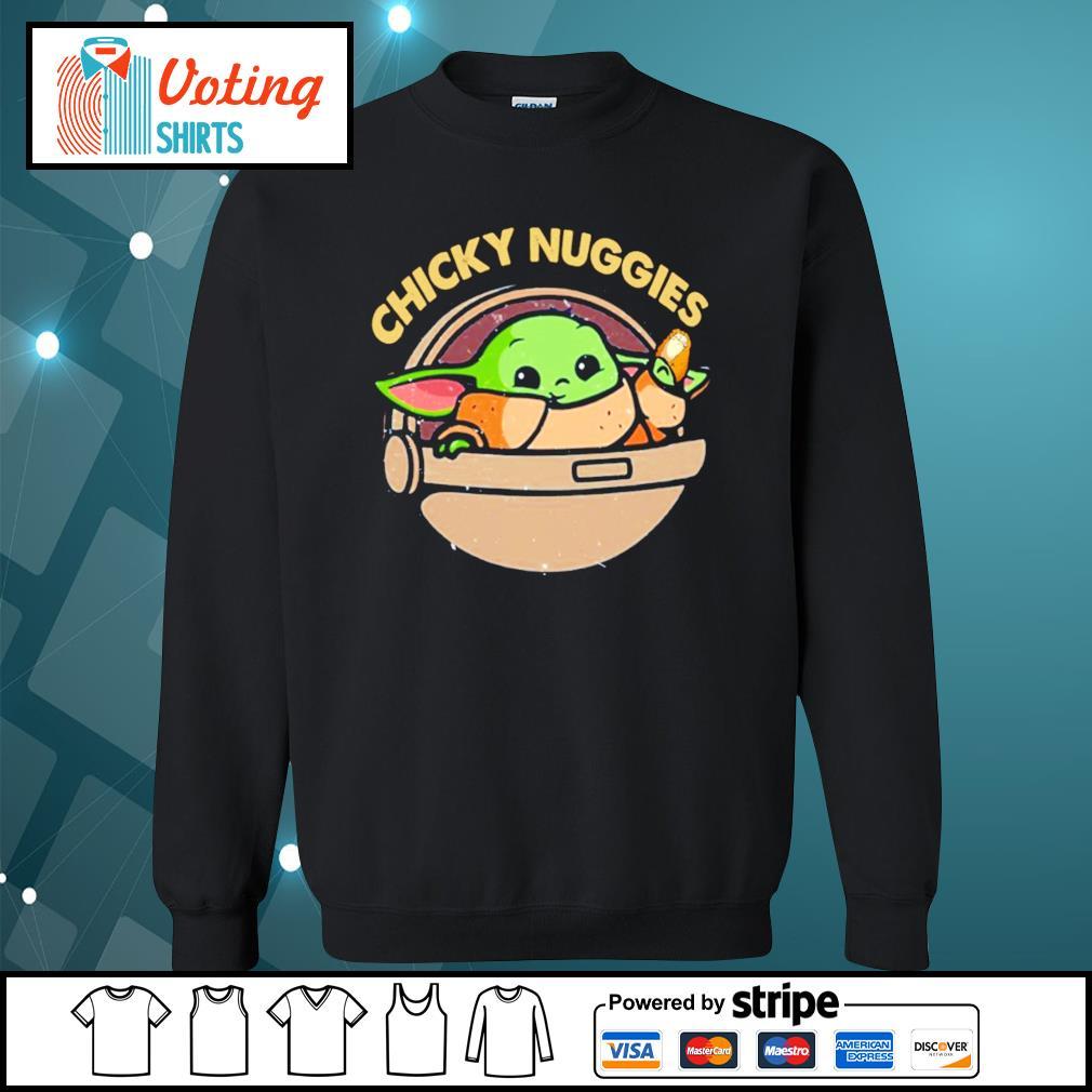Baby Yoda chicky nuggies s sweater