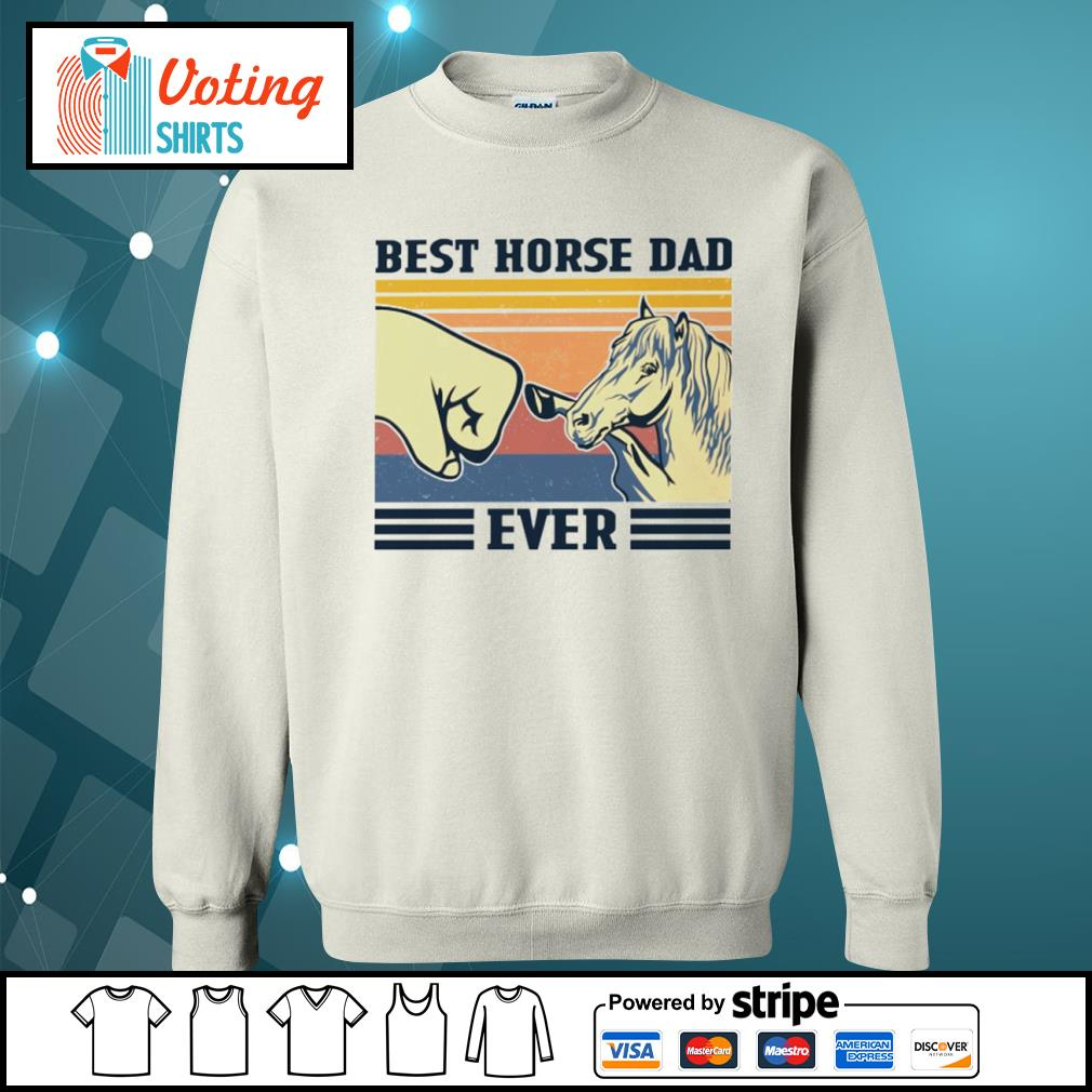 Best horse dad ever vintage s sweater