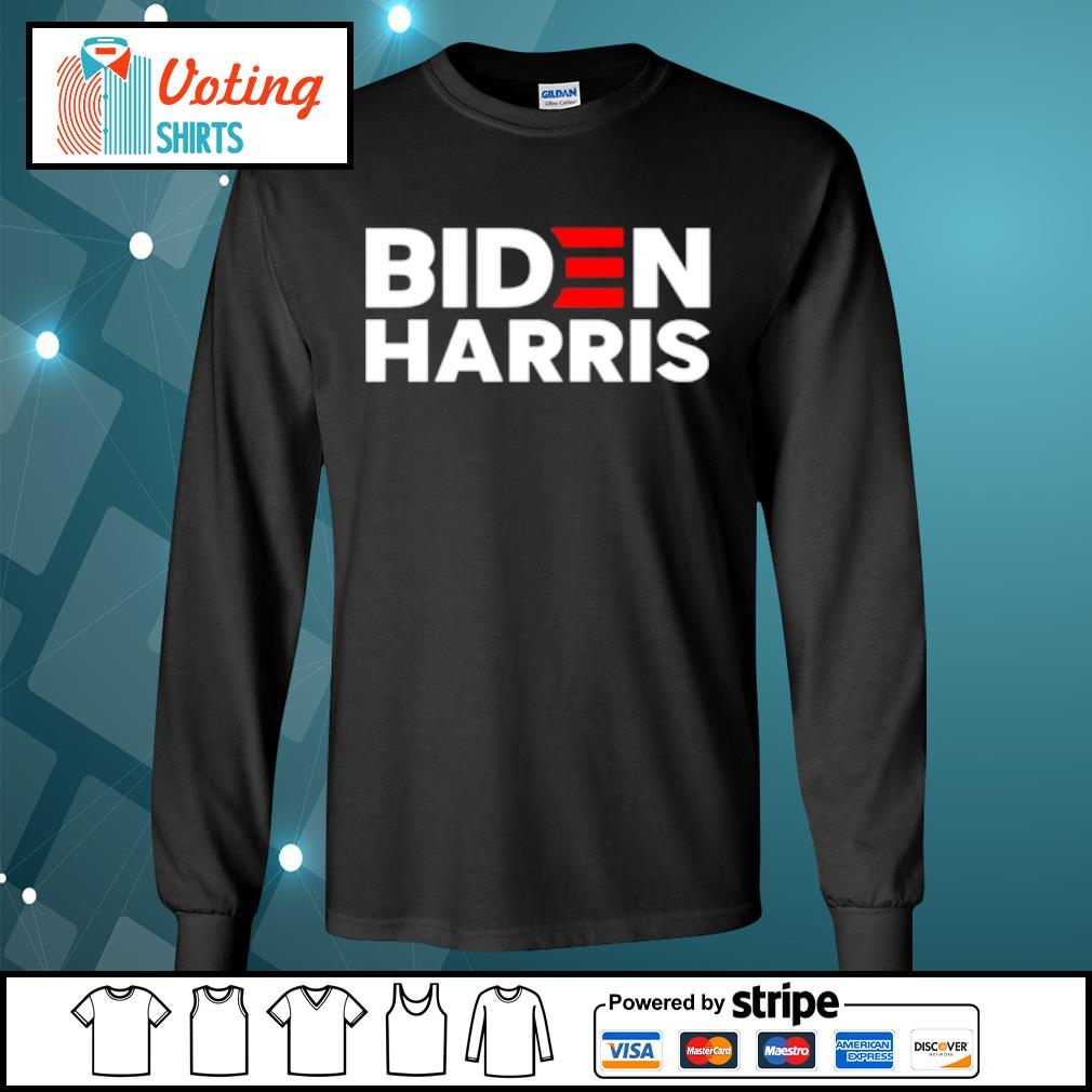 Biden Harris 2020 Election Shirt longsleeve-tee