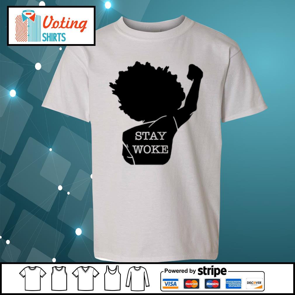 Black girl stay woke s youth-tee