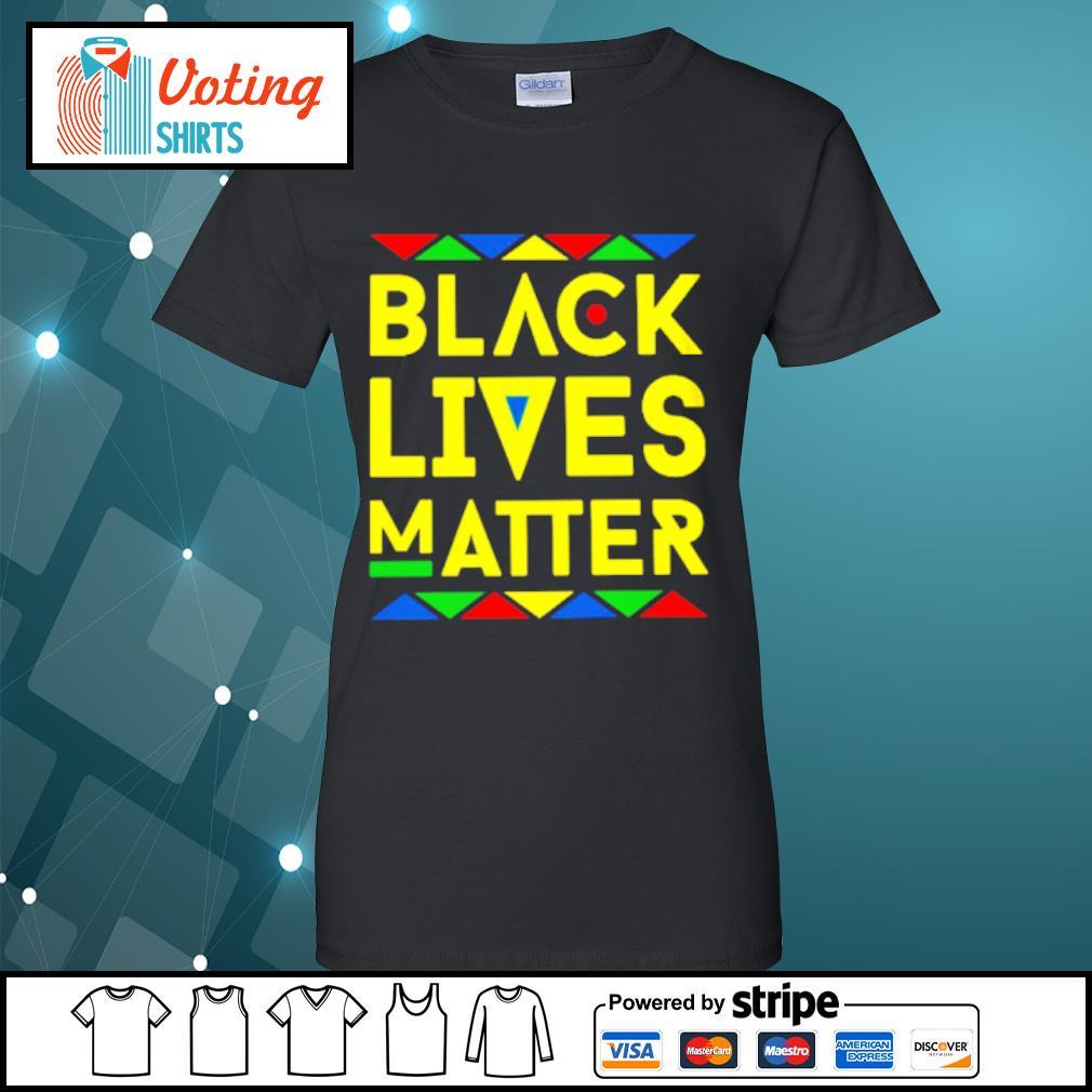 Black lives matter s ladies-tee