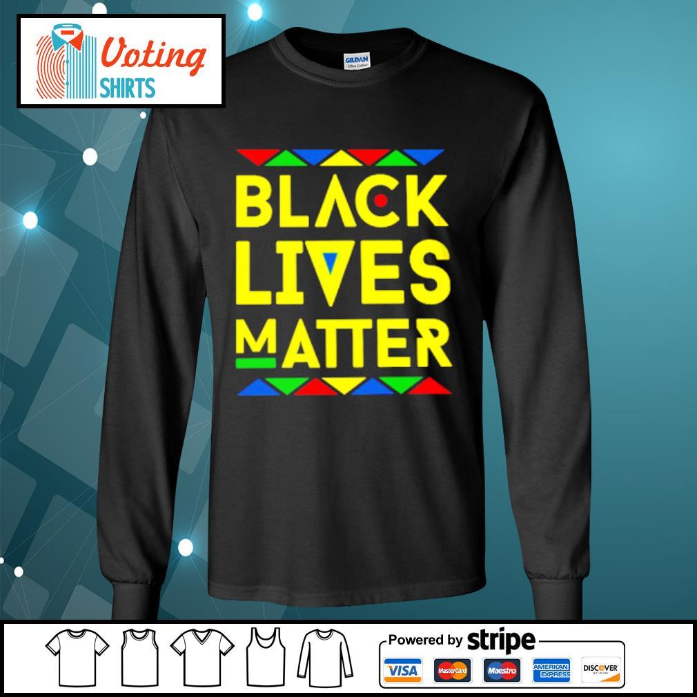 Black lives matter s longsleeve-tee