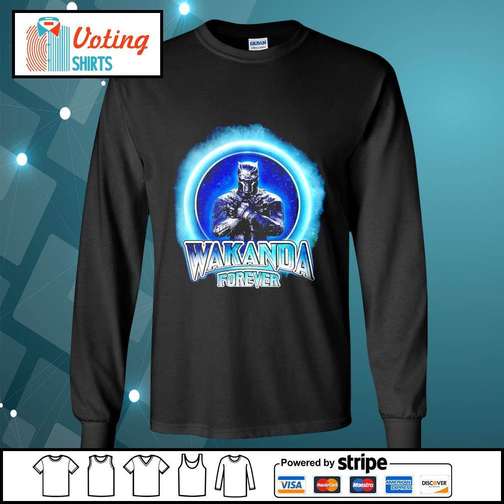 Black Panther Merchandise Wakanda forever s longsleeve-tee