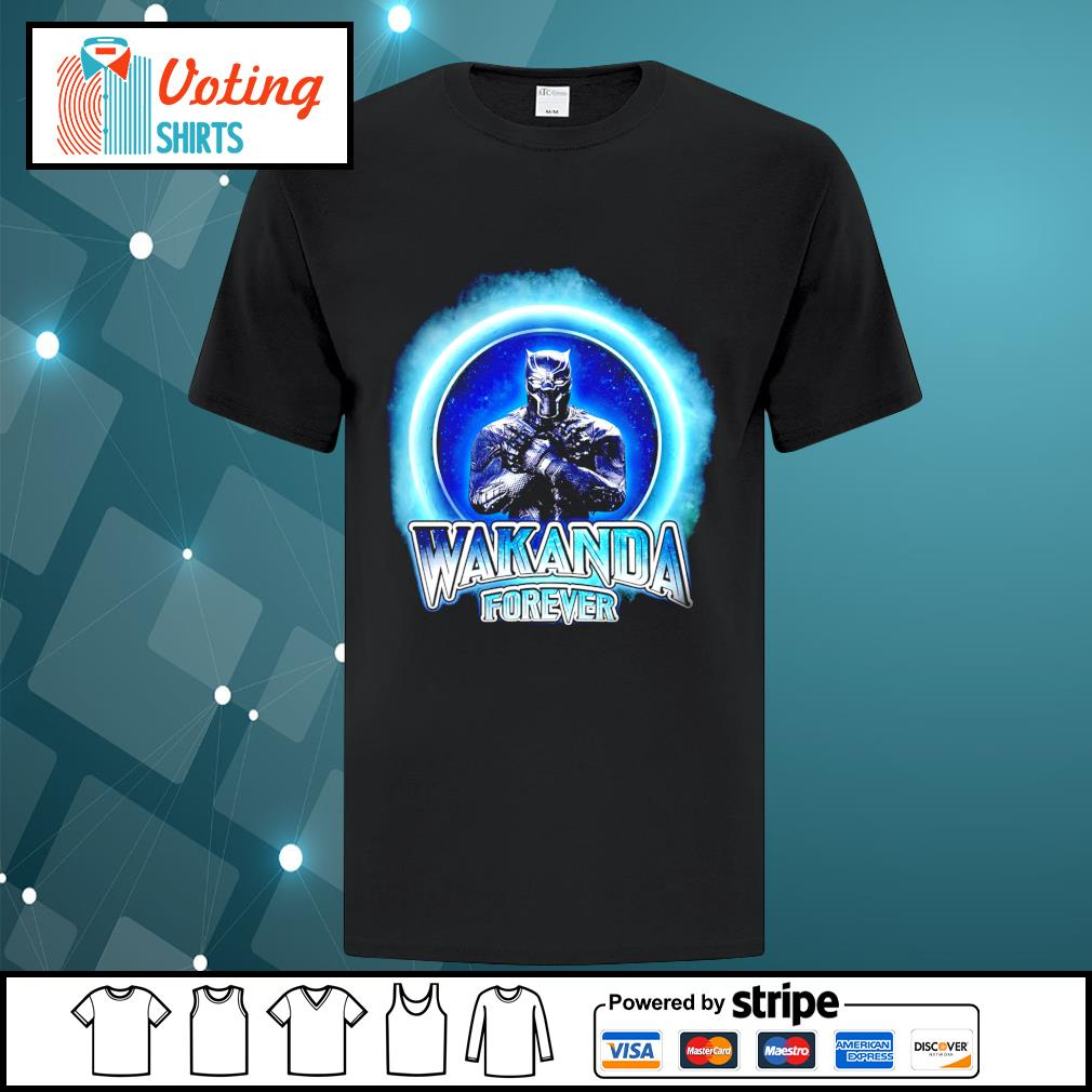 Black Panther Merchandise Wakanda forever shirt