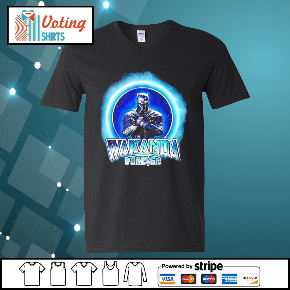 Black Panther Merchandise Wakanda forever s v-neck-t-shirt