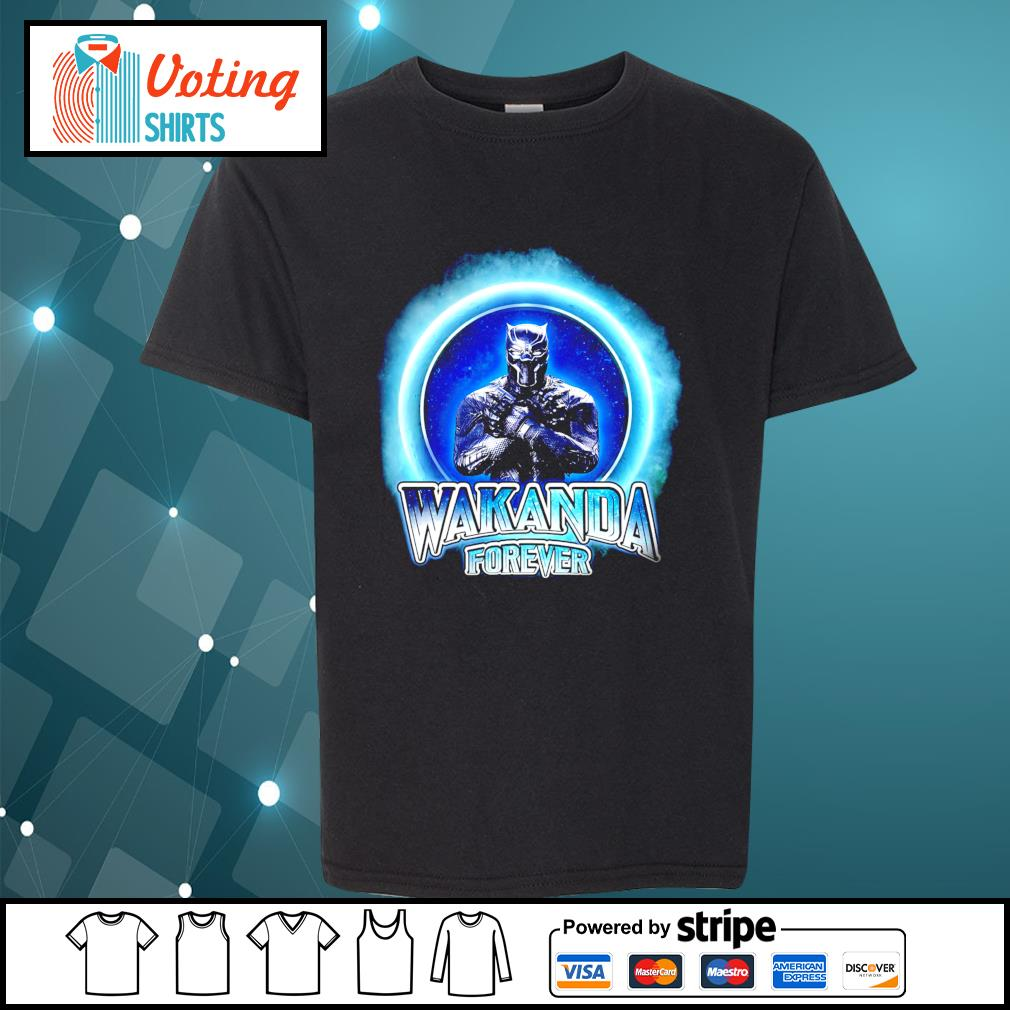 Black Panther Merchandise Wakanda forever s youth-tee