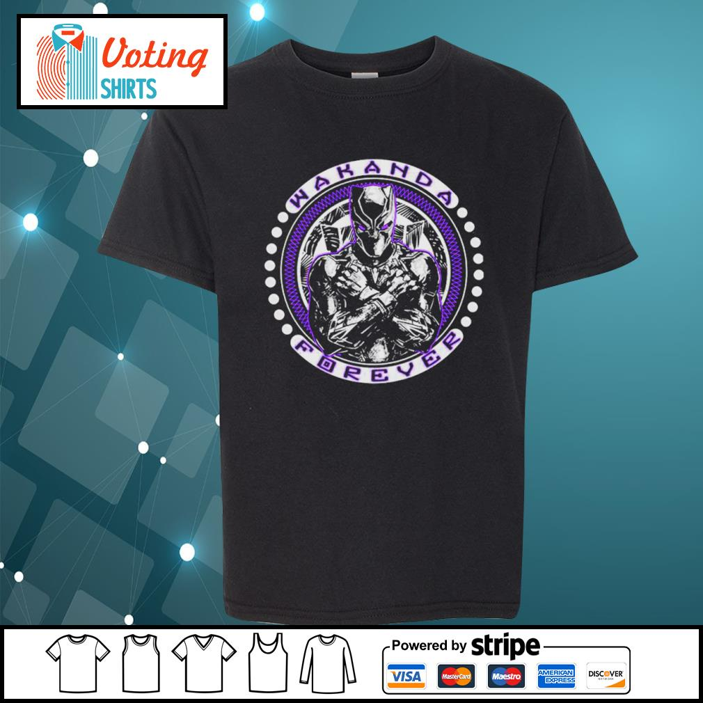 Black Panther Wakanda forever s youth-tee