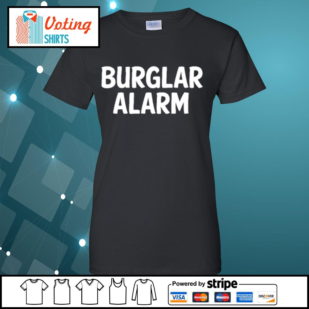 Burlar Alarm Shirt ladies-tee