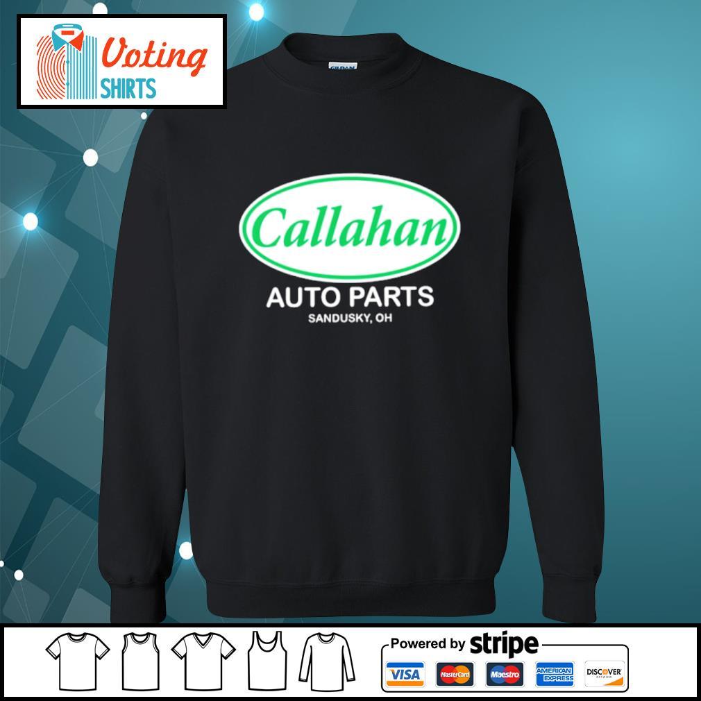 Callahan auto parts Sandusky oh s sweater