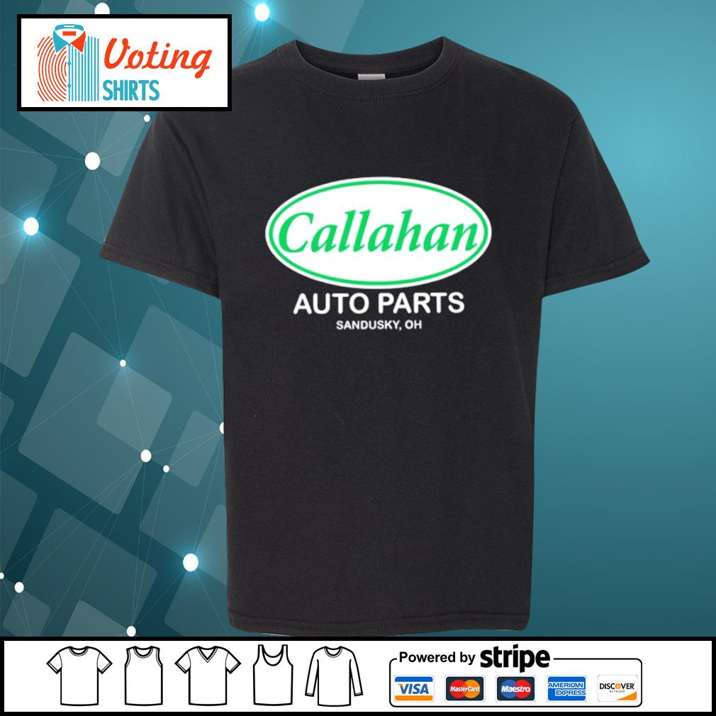 Callahan auto parts Sandusky oh s youth-tee