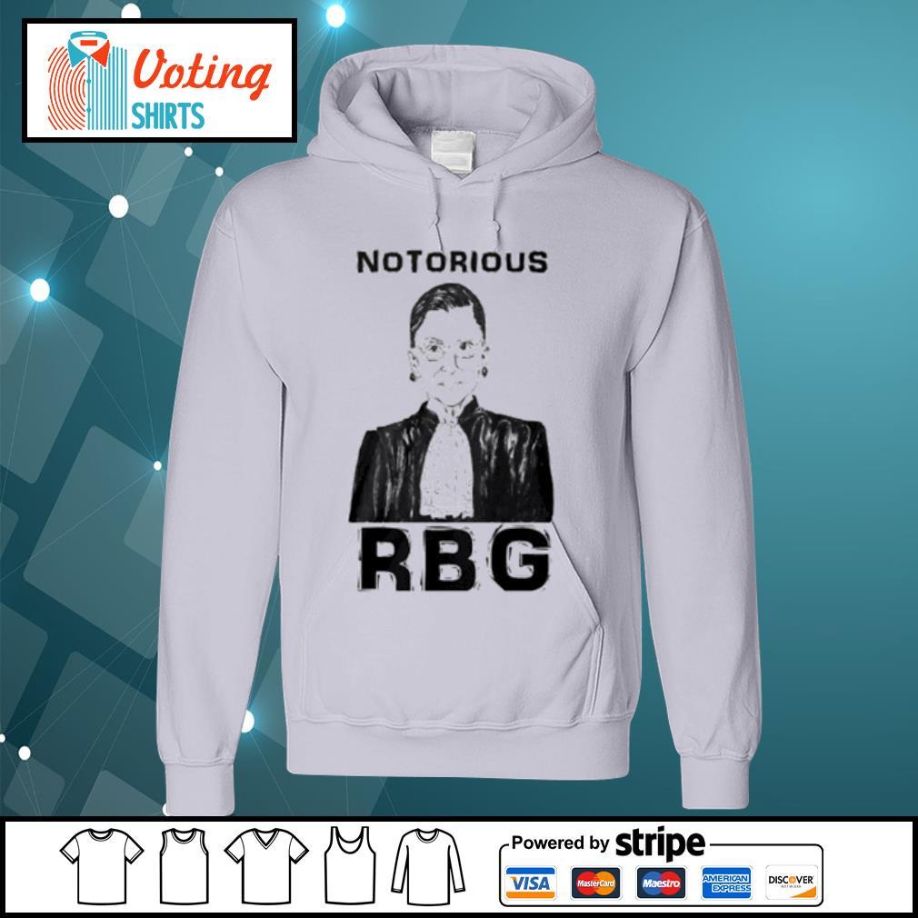 Celebrate the Notorious RBG Shirt hoodie