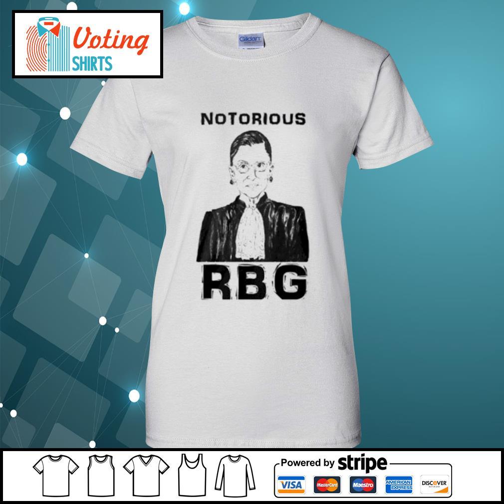 Celebrate the Notorious RBG Shirt ladies-tee