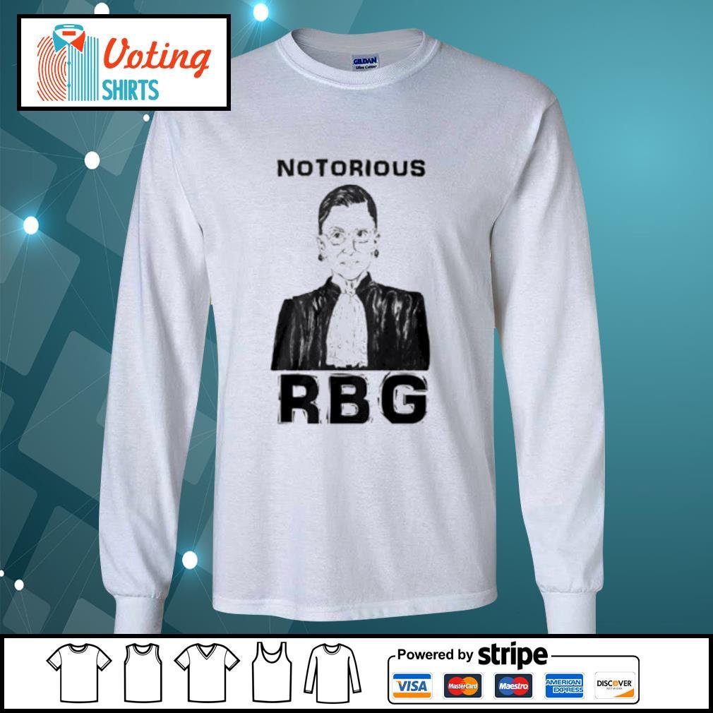 Celebrate the Notorious RBG Shirt longsleeve-tee