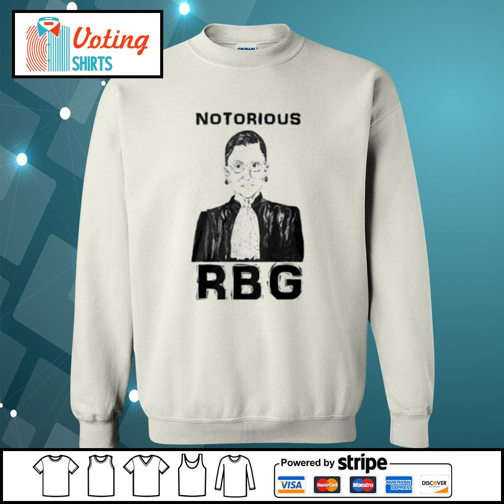 Celebrate the Notorious RBG Shirt sweater