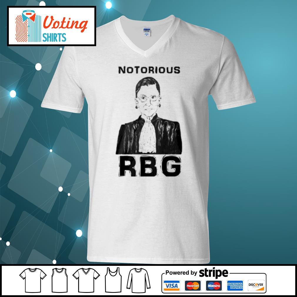 Celebrate the Notorious RBG Shirt v-neck-t-shirt