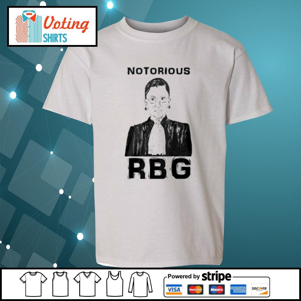 Celebrate the Notorious RBG Shirt youth-tee