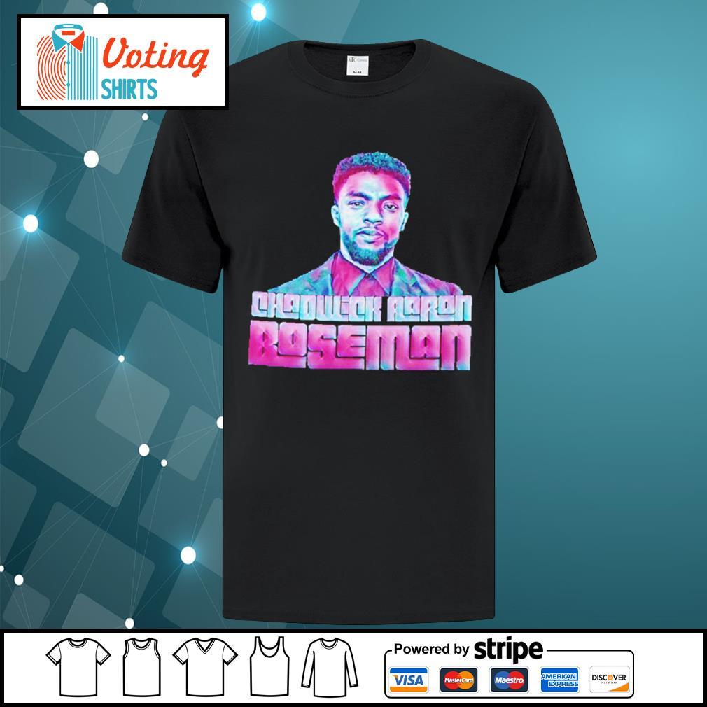 Chadwick Aaron Boseman shirt