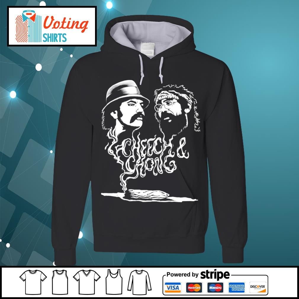 Cheech and Chong up in smoke Marijuana stoner s hoodie