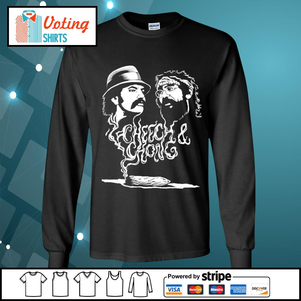 Cheech and Chong up in smoke Marijuana stoner s longsleeve-tee