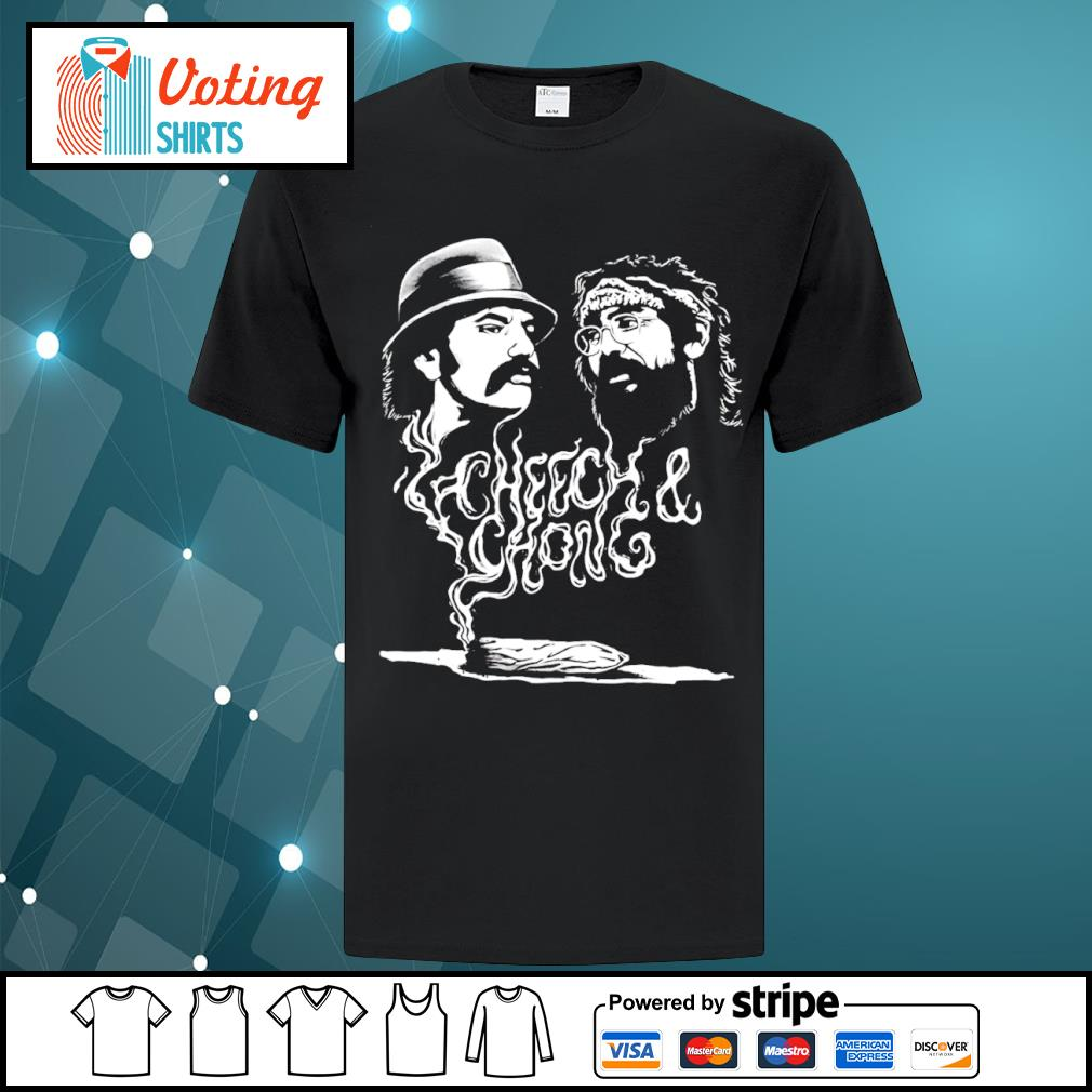 Cheech and Chong up in smoke Marijuana stoner shirt