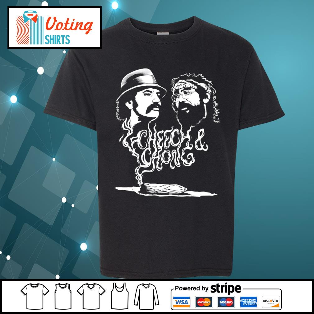 Cheech and Chong up in smoke Marijuana stoner s youth-tee