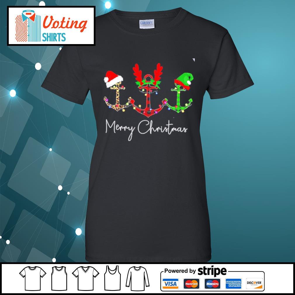 Cruises Merry Christmas s ladies-tee