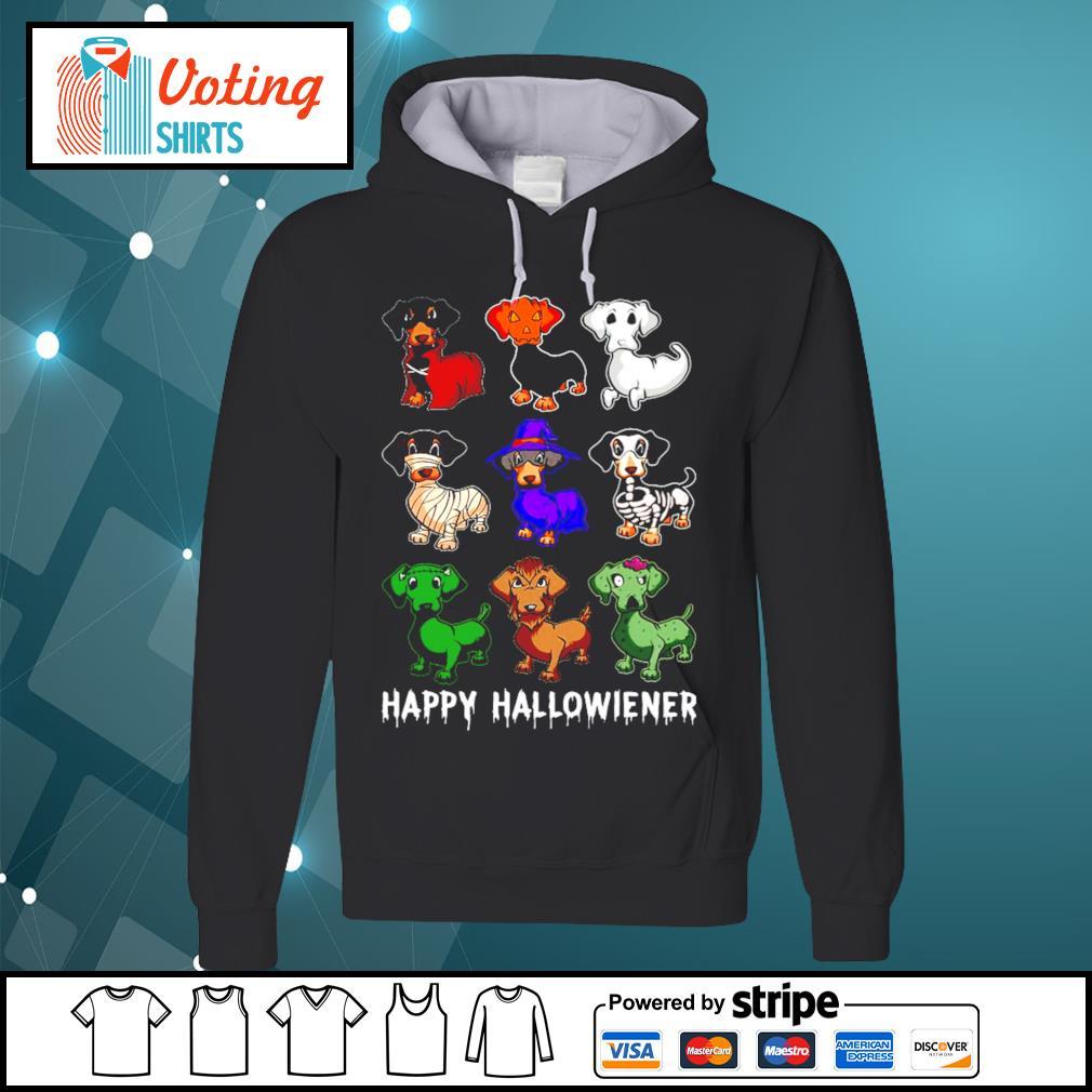 Dachshund Happy Hallowiener Halloween s hoodie
