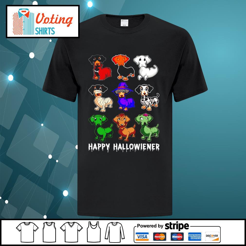 Dachshund Happy Hallowiener Halloween shirt